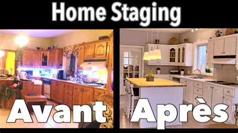 home staging cuisine avant apres avant après home staging les images qui vendent