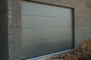 installation thermique crawford porte de garage With porte de garage sectionnelle hormann
