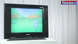 Tv 21 U0026quot  Ultra Slim Semp Toshiba Tela Plana Flat 2134sl