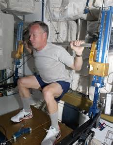 Weightless weightlifting? All in a day's work for Nasa's ...