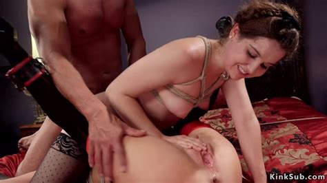 Rough Anal And Fisting Threesome Bdsm Veronica Avluv