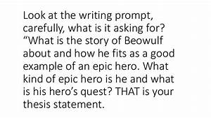 beowulf essay examples