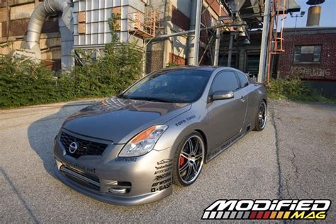 nissan altima modified 2008 nissan altima coupe modified magazine