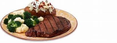 Steak Dinner Transparent Sirloin Husker Appetite Never