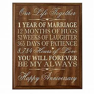 1st year anniversary gift ideas amazoncom With 1st wedding anniversary gift for him