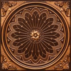 rose window faux tin ceiling tile 24 quot x24 quot 238