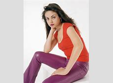 Celebrity Leather Fashions Mila Kunis, That '70s Show Girl