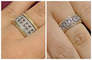 can i wear silver and gold jewelry together style guru With engagement rings and wedding band