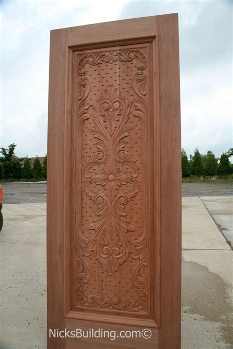 carved mahogany doors hand carved mahogany doors