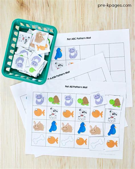 preschool lesson plans pets pets theme activities and centers for preschool 403