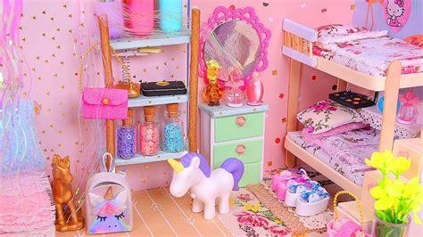 6 Diy Miniature Dollhouse Rooms