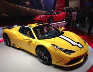 yellow 458 spider 2015 458 speciale a revealed kelley blue book
