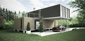 Moderne Container Häuser : container haus das traumhafte eigenheim innovativ wohnideen und container h user ~ Whattoseeinmadrid.com Haus und Dekorationen