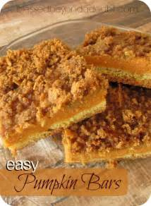 Gingersnap Pumpkin Pie Bars by Amazing Pumpkin Recipes From Sweet To Savory