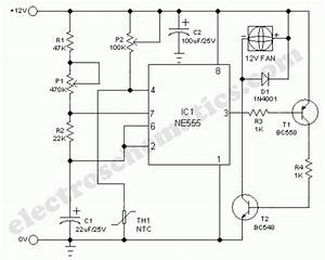 Smart Cooling Fan Circuit