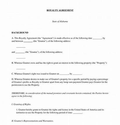 Agreement Template Sample Pdf Word