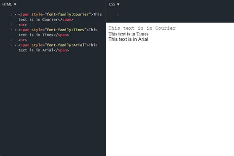 How To Change Web Page Fonts With Css