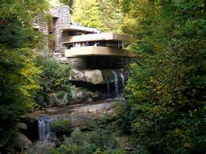 house plans with large windows fallingwater and kentuck knob
