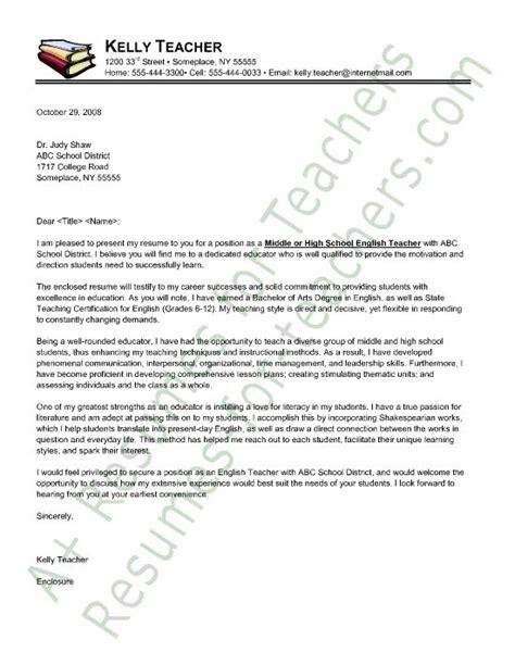 cover letter sle principal resume