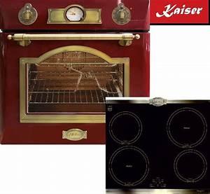 Backofen Herd Set : top herd set kaiser einbau backofen eh 6355 rot induktions kochfeld sonderpreis ebay ~ A.2002-acura-tl-radio.info Haus und Dekorationen
