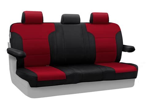 Neoprene Boat Seat Covers by Coverking Neoprene Custom Seat Cover With Black Sides