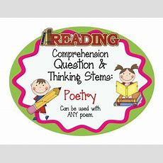 Thinking Stems, Comprehension Questions And Reading Comprehension On Pinterest