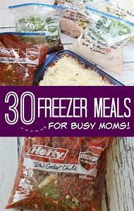 Meal Prep Einfrieren : freezer meals for busy moms freezer meals auf vorrat kochen und einfrieren rezepte essen ~ Somuchworld.com Haus und Dekorationen