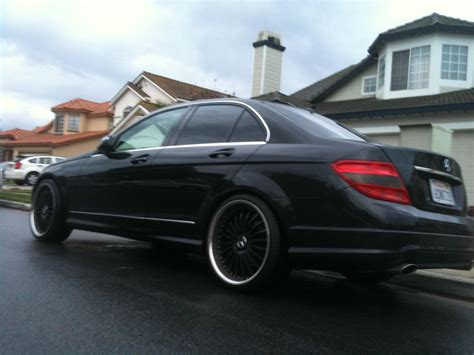 Mercedes C Class Sedan Modification by Kim W204 2008 Mercedes C Classc300 Sport Sedan 4d