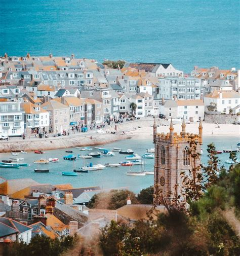 St Ives, Cornwall Named Happiest Place To Live In Great ...