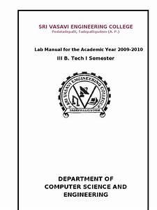 Microprocessors Lab Manual Original
