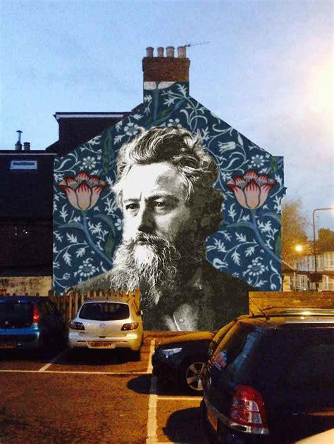 design  giant william morris mural