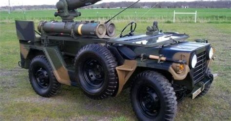 jeep tank military military jeep with tow anti tank missile launcher cold