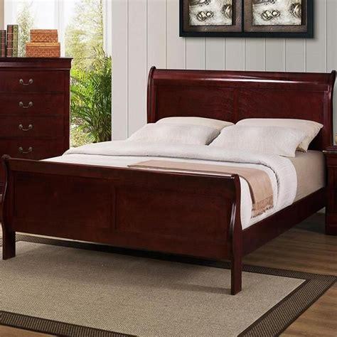 louis phillipe king sleigh bed  cherry nebraska
