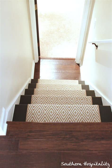 The Good Rug Company by Painted Stairs And Adding Runners Southern Hospitality