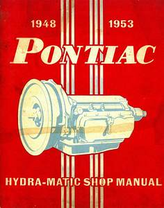 Pontiac Hydra Matic Transmission Manual 1948