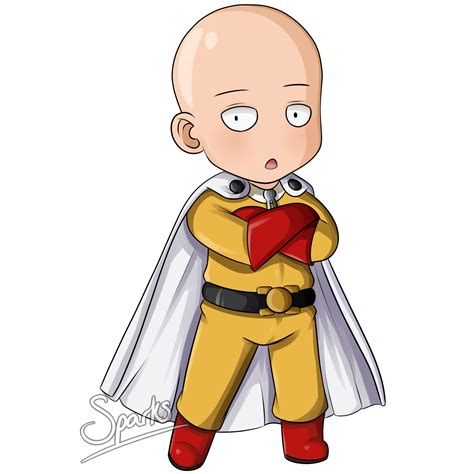 One Punch Man Mobile Wallpaper Saitama Chibi By Sparksreactor On Deviantart