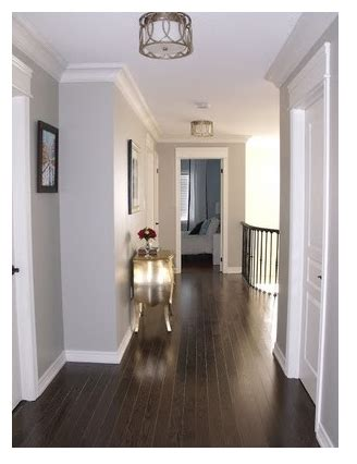 dark wood floors with light gray walls home home