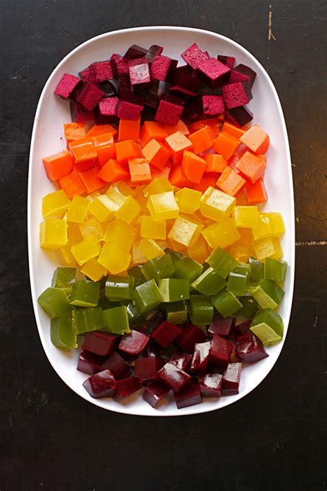 rainbow  healthy homemade gummy snacks modern