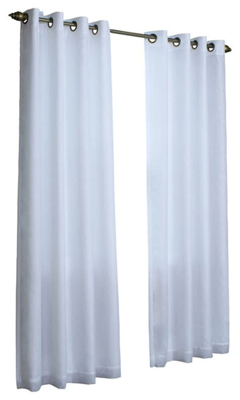 light filtering insulated curtains thermavoile quot rhapsody lined quot light filtering voile panel