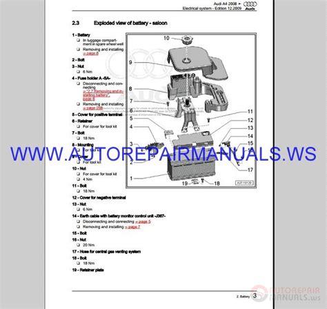 service repair manual free download 2001 audi s4 seat position control audi a4 b8 service repair manual 1995 2008 auto repair manual forum heavy equipment forums