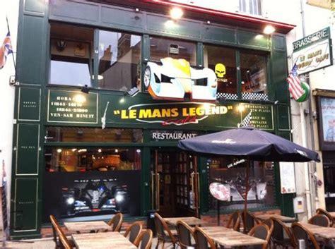le mans cuisine le mans legend cafe le mans restaurant reviews phone