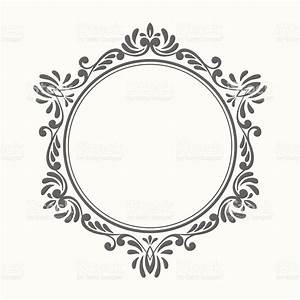 Elegant Luxury Retro Floral Frame Stock Vector Art & More ...