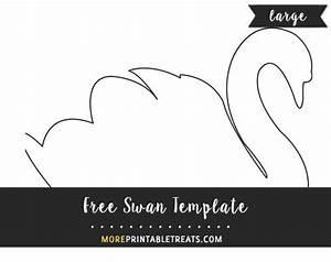 Free Swan Template
