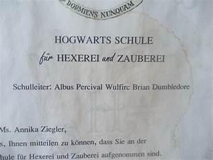 Party Planung – Harry Potter – Hogwarts Brief – Harry Potter Brief LilysKreativblog