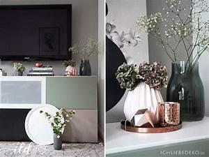 Deko Vasen Für Wohnzimmer : wandgestaltung mit alpina flur wohnzimmer im neuen look ich liebe deko ~ Bigdaddyawards.com Haus und Dekorationen