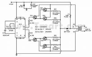 Dc 12v To Ac 220v 500w Power Inverter