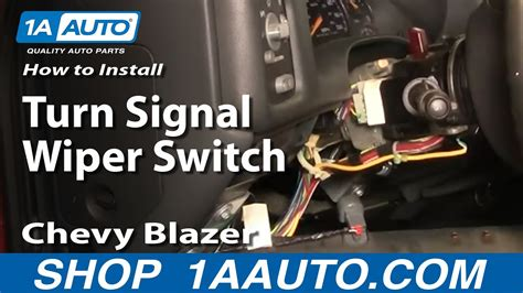 replace combination switch   gmc sonoma youtube