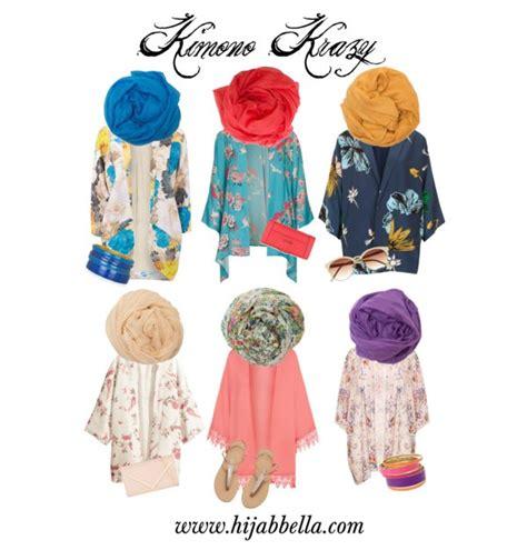 style  hijab    kimono  summer