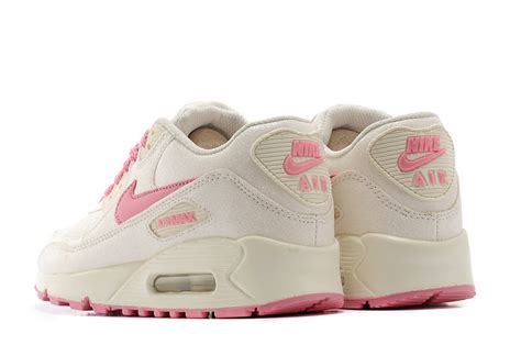 nike air max 90 sequins womens running shoes beige pink