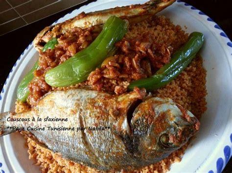 cuisine tunisienne poisson couscous au poisson à la sfaxienne tunisme recettes
